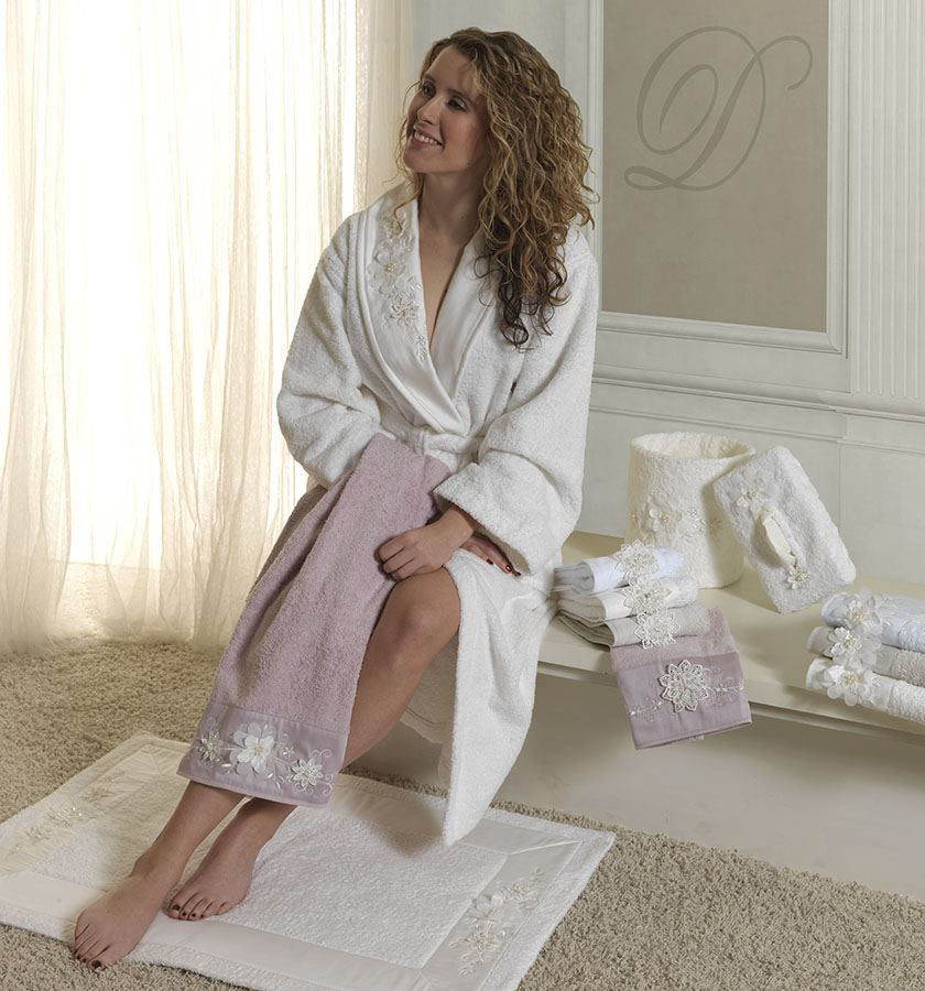 divina accappatoio asciugamani